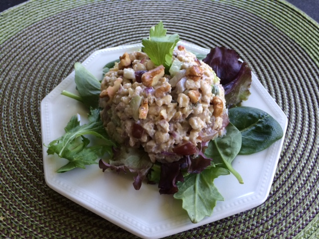 "Tempeh ""Tuna"" Salad"