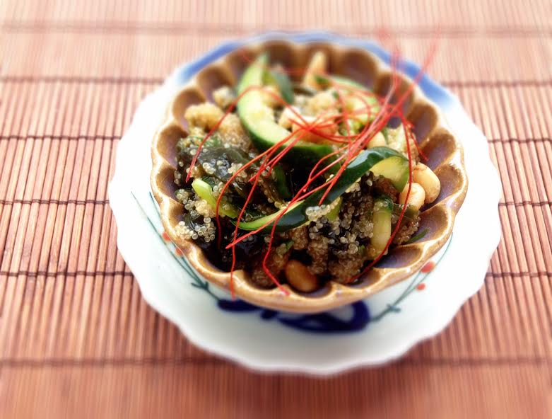 Wakame Salad with Pine Nuts