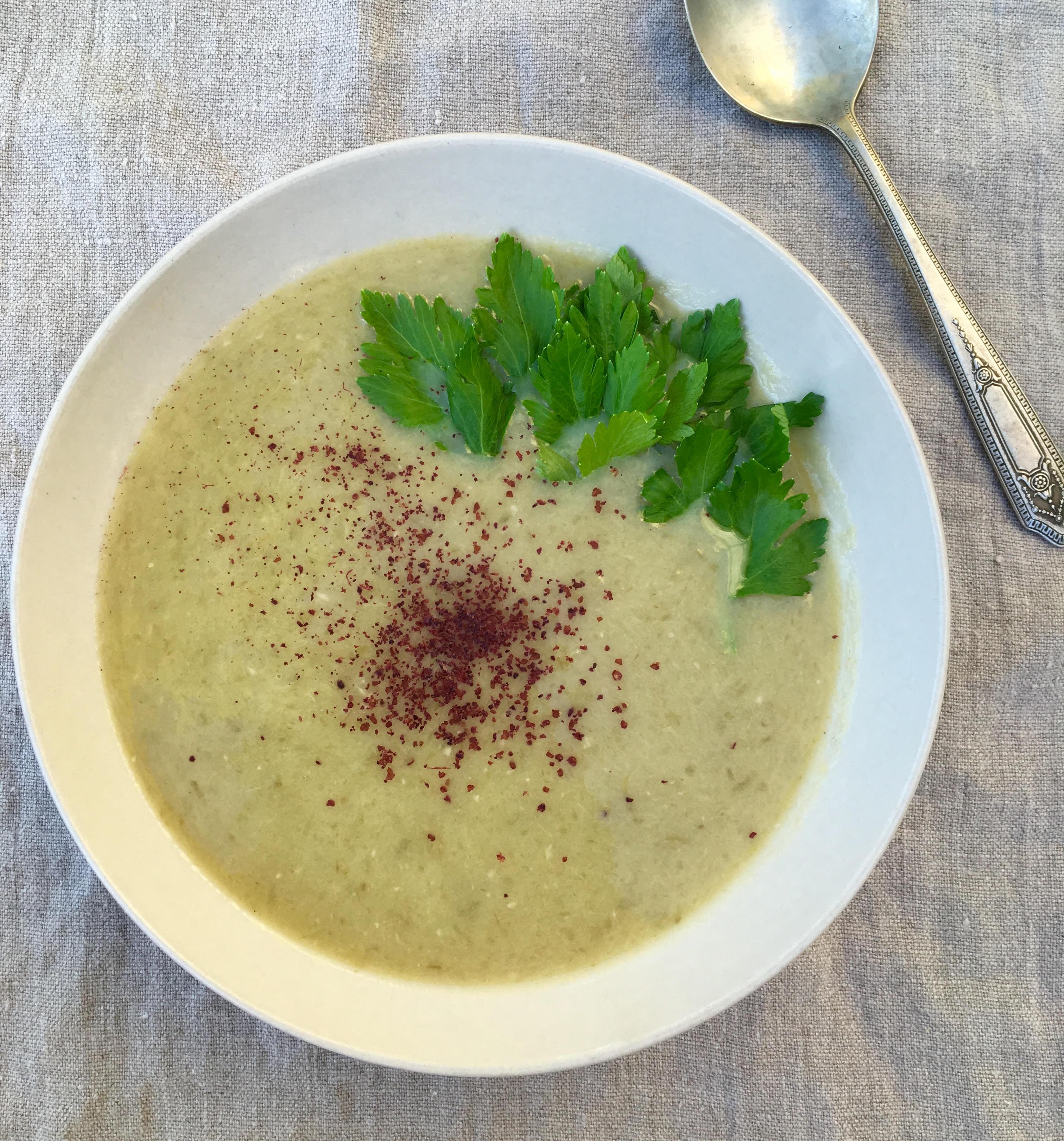 celery-leek-soup